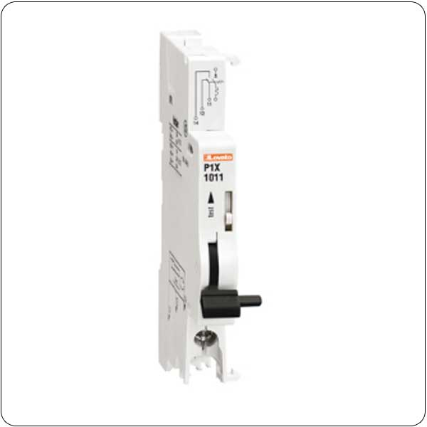 Add-on blocks for miniature circuit breakers P1MB… type, from 1 to 63A