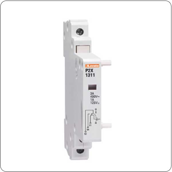 Add-on blocks for miniature circuit breakers P2MB… type, from 80 to 125A