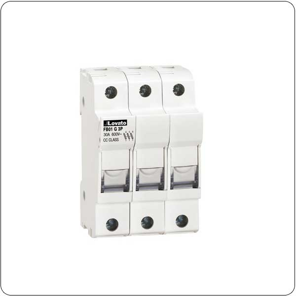 Fuse holders UL certified for class CC fuses for North American market