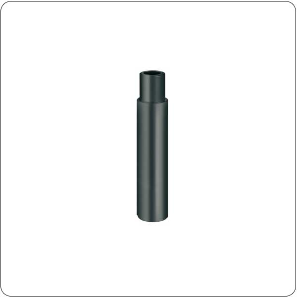 Extension tube for plastic base, stackable sections