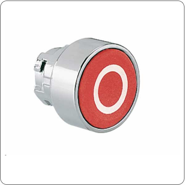 Pushbutton actuators, spring return, with symbol