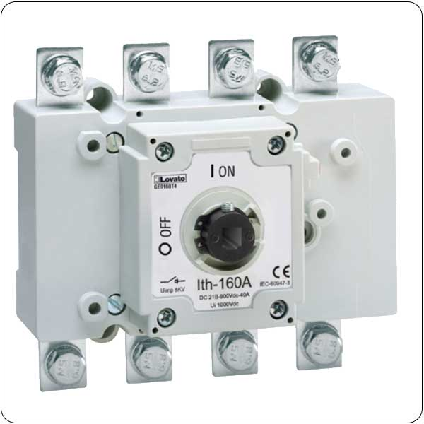 With NH fuse holder