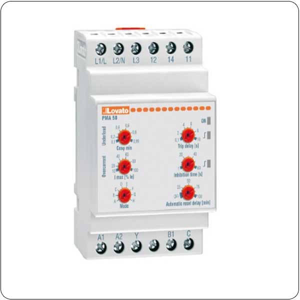 Pump protection relays