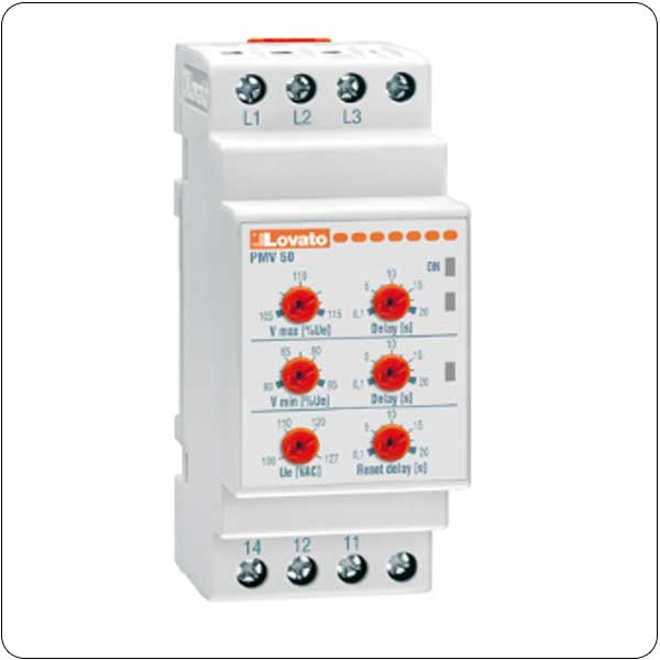 Frequency monitoring relays