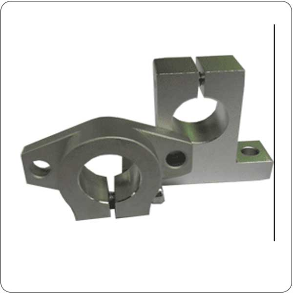 Precision Round Rail End Supports