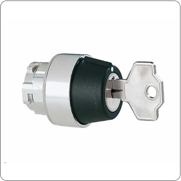 Selector switch actuators key