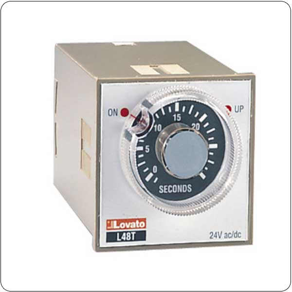 Plug-in and flush mount version 48x48mm