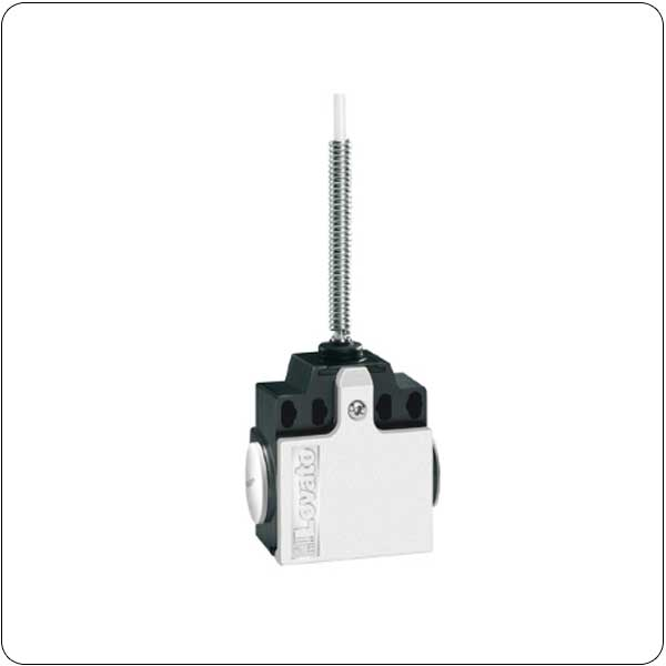 2 side cable entry. Dimensions compatible to EN 50047