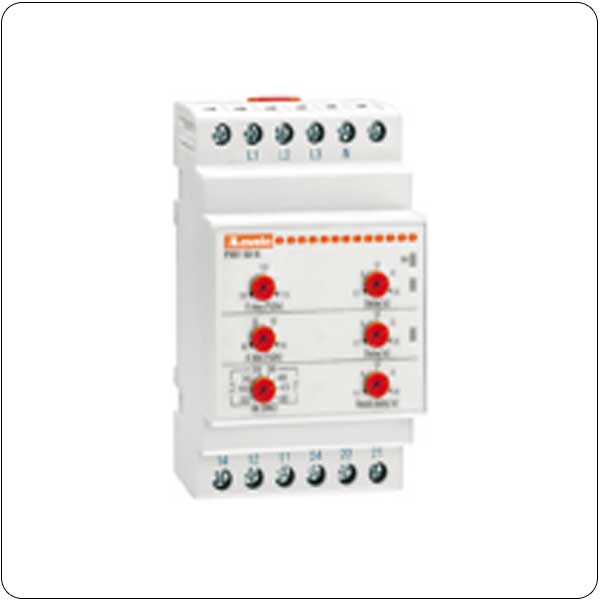 Minimum and maximum AC voltage. Phase loss, neutral loss and incorrect phase sequence