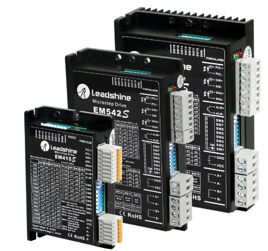 EM-S Series - Advanced Digital Stepper Drives